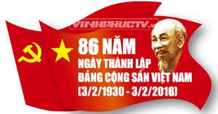 86 năm ngày thành lập ĐCSVN